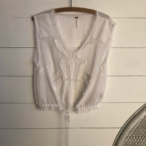 Free people crop